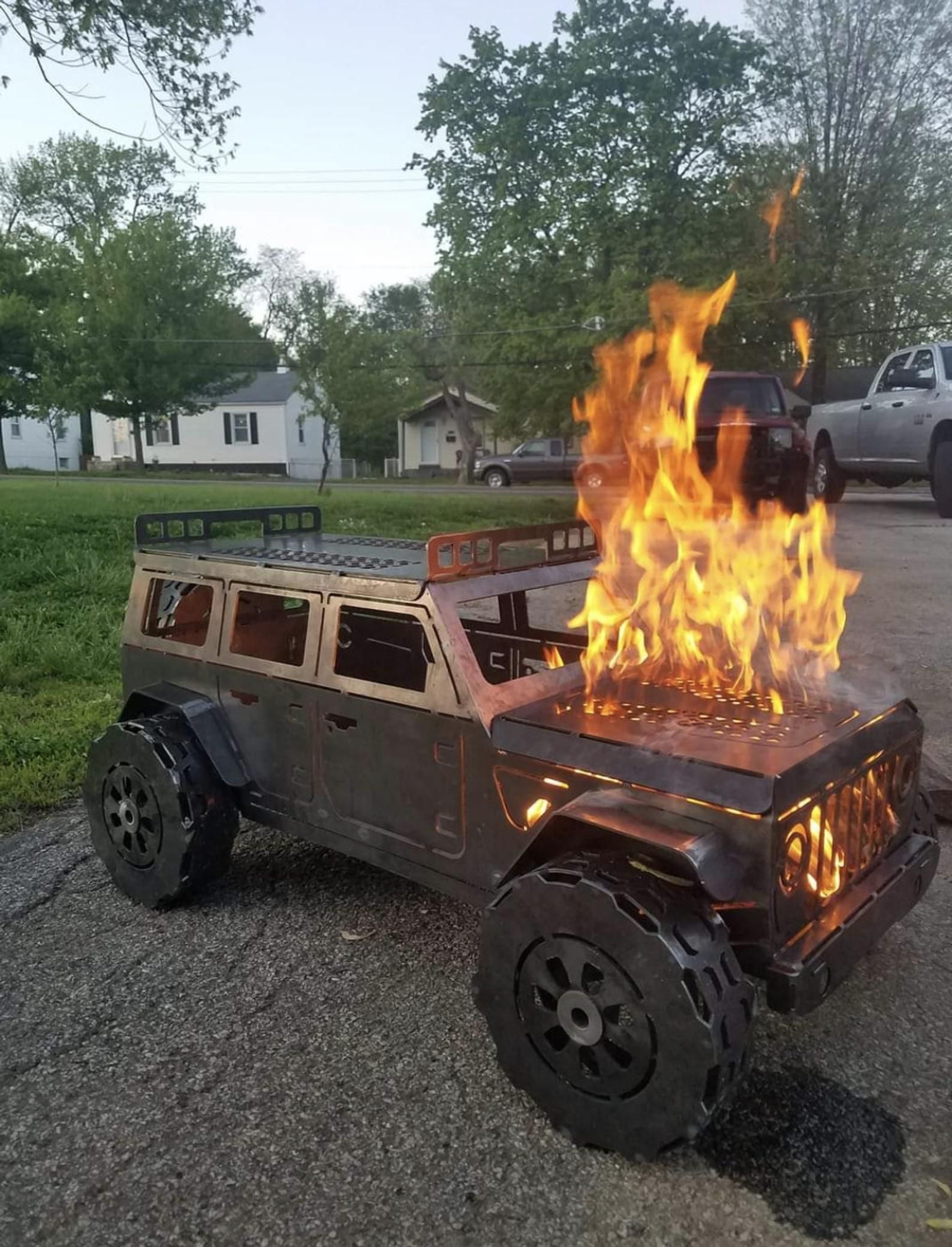 Jeep Wrangler Fire Pit For Sale Best And Coolest Fire Pits