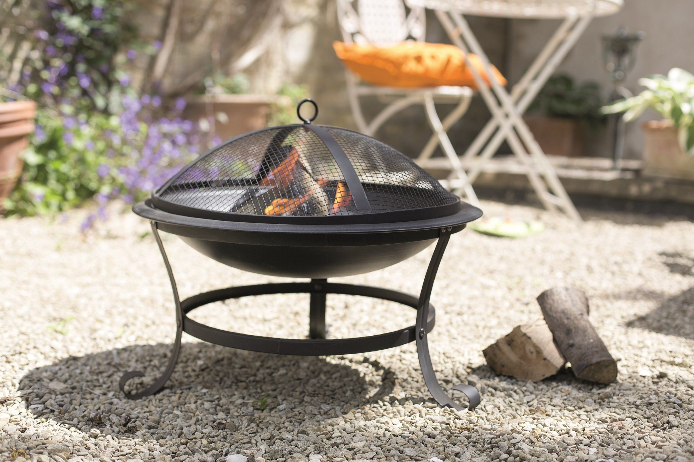 Lidl is selling a garden fire pit for just £25