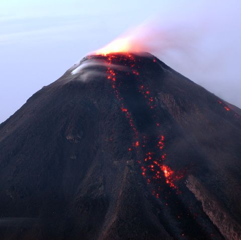 Fire, Volcano Eruption