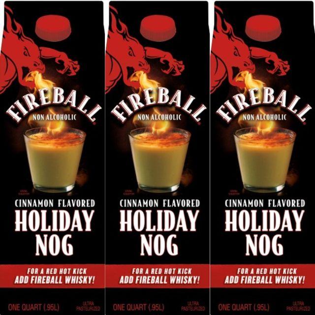 fireball cinnamon nog