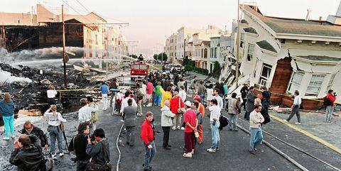 USA-SAN FRANCISCO-EARTHQUAKE