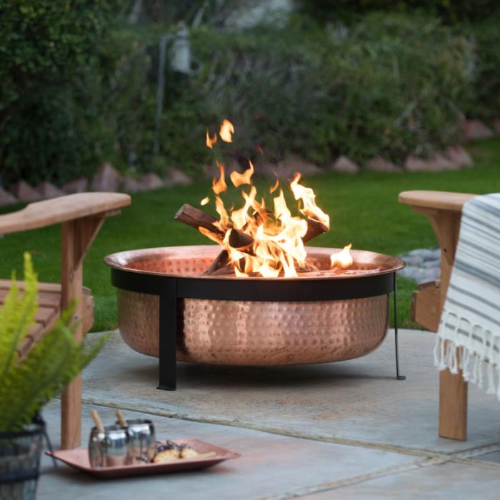 image & 11 Best Backyard Fire Pit Ideas - Stylish Outdoor Fire Pit Designs