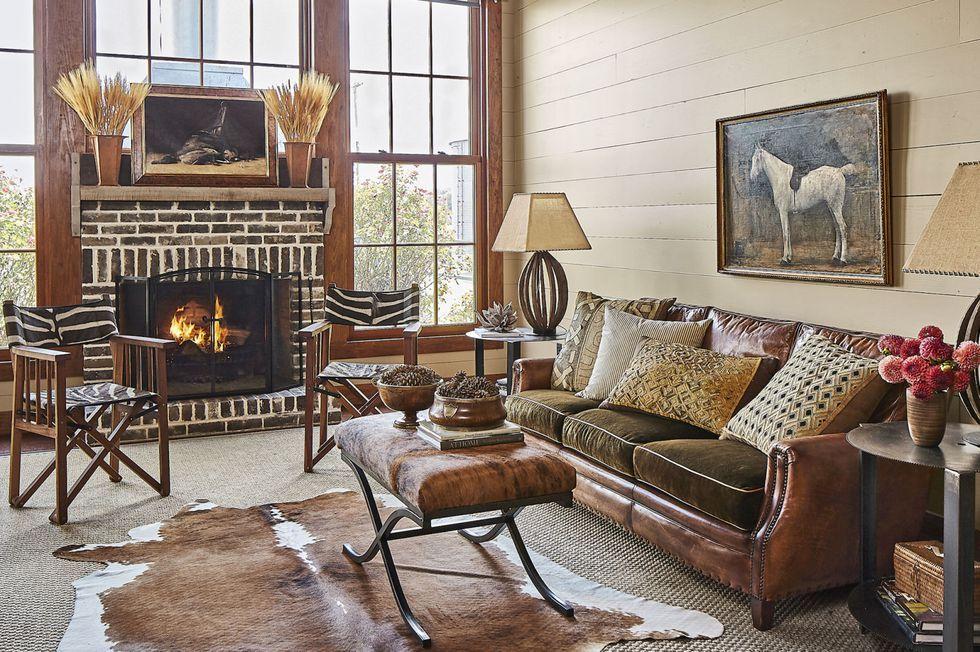 40 fireplace design ideas fireplace mantel decorating ideas rh countryliving com