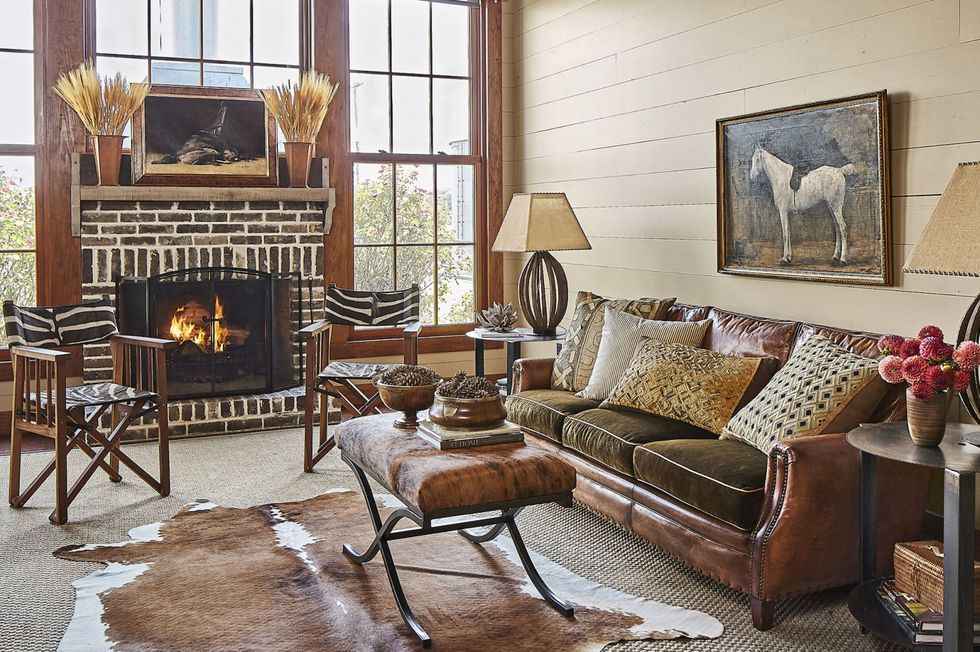 Beautiful 40+ Fireplace Mantel Ideas For A Perfectly Country Living Room