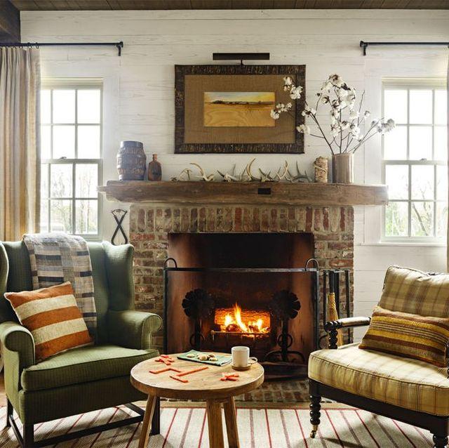 45 Fireplace Design Ideas Mantel Decorating
