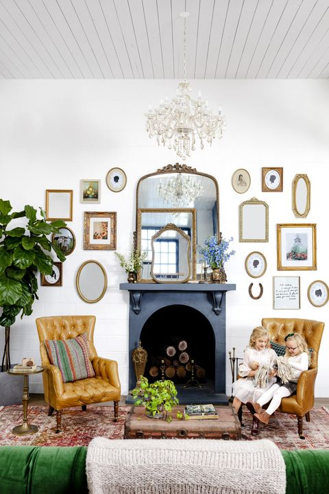 fireplace mantel ideas mirrors