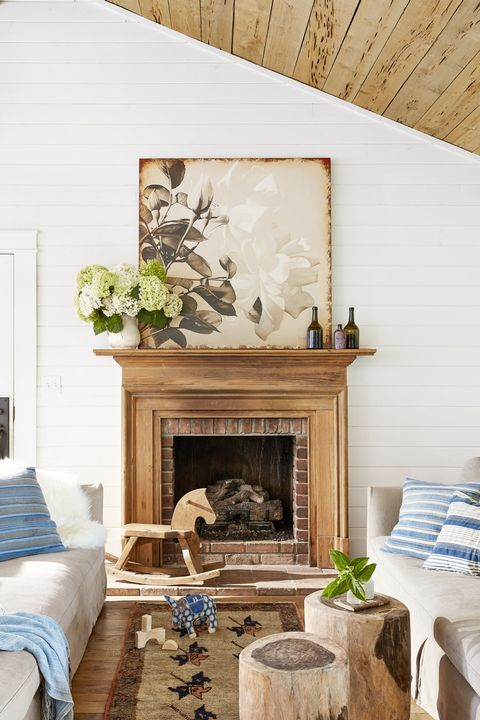 fireplace mantel ideas antique wood
