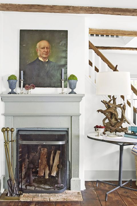 fireplace mantel ideas topiaries