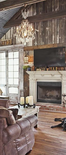 40+ Fireplace Design Ideas - Fireplace Mantel Decorating Ideas