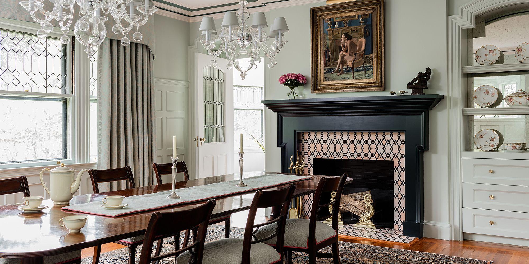 15 Stylish Tiled Fireplaces