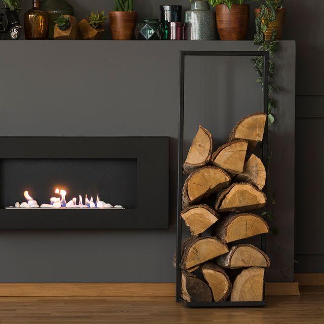 firewood log holders