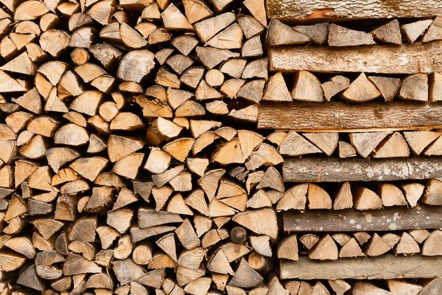 how to stack firewood, firewood stack