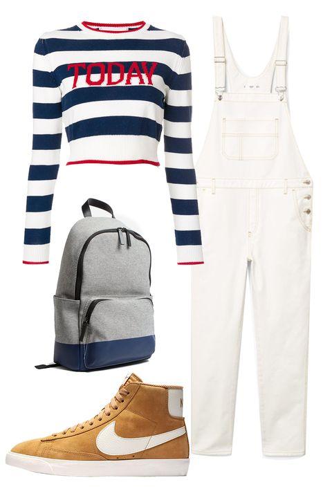 White, Clothing, Footwear, Jeans, Blue, Shoe, Denim, Sportswear, Trousers, sweatpant,