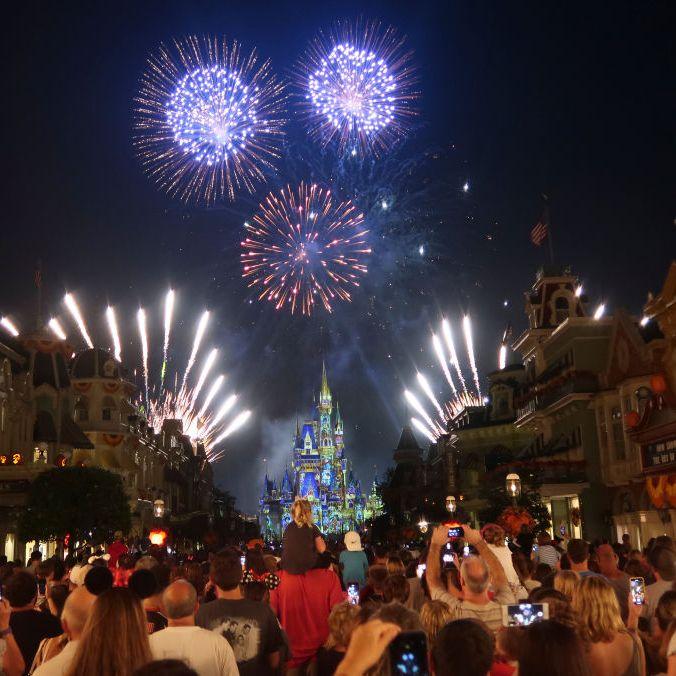 Happily Ever After Fireworks Show at Walt Disney World