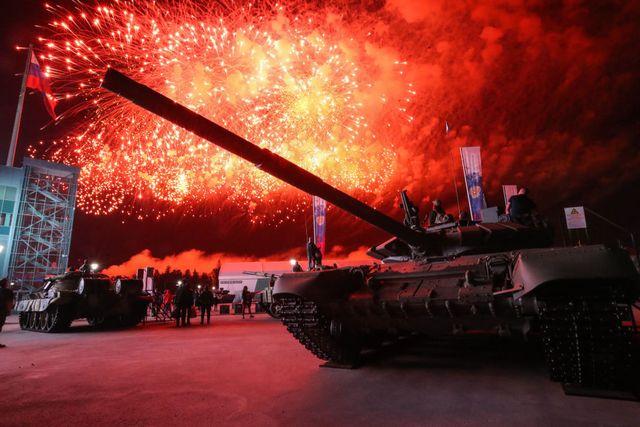 2020 international army games award ceremony