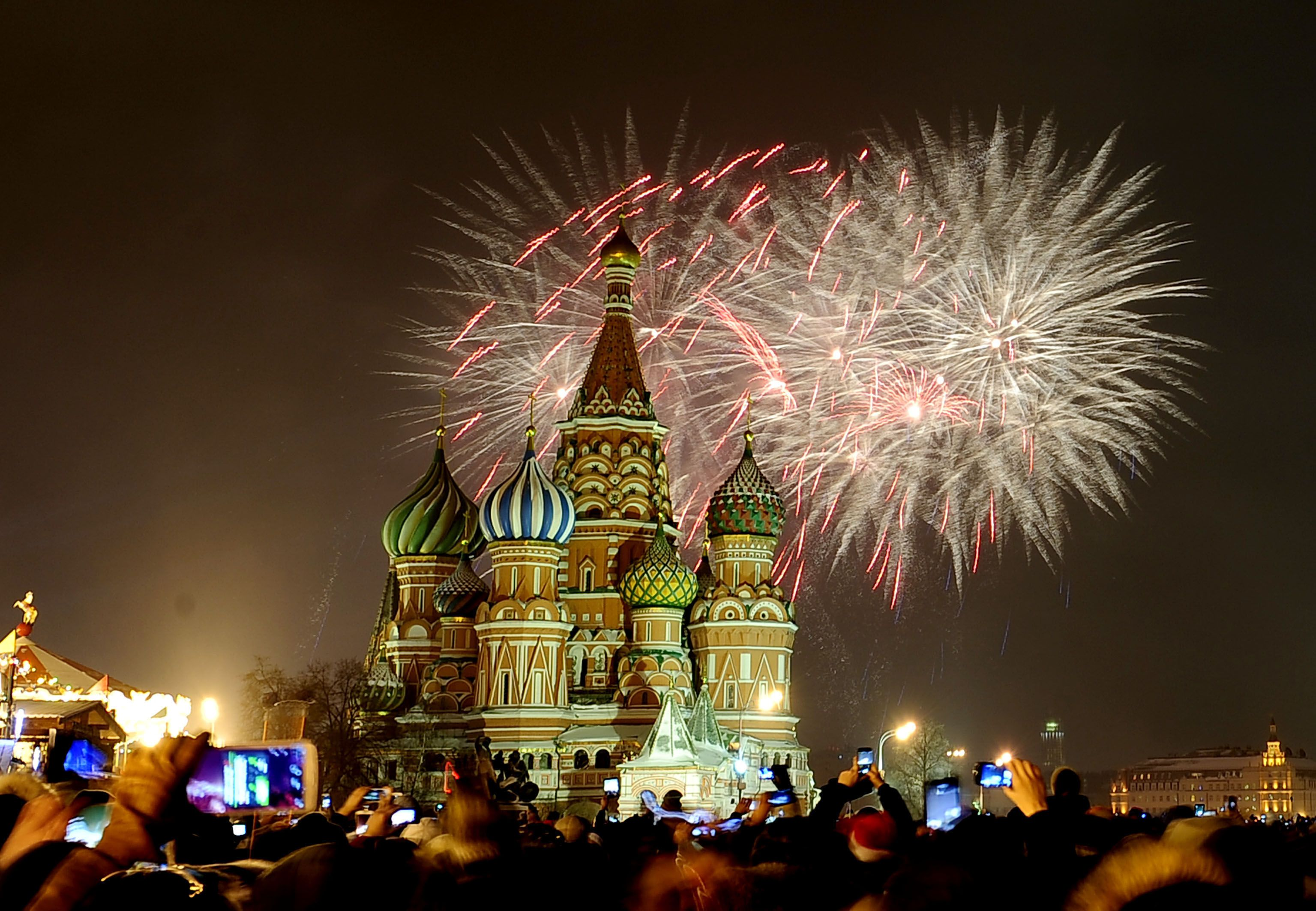 The Biggest New Year's Eve Celebrations Around The World