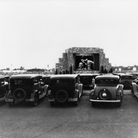 first drive in theater in camden, new jersey