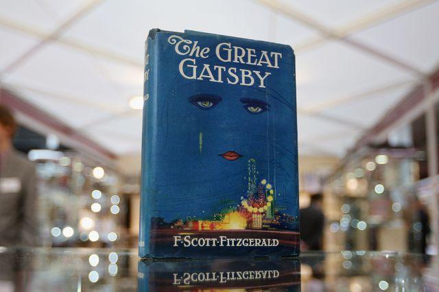 the great gatsby book f scott fitzgerald