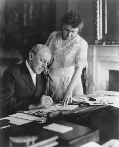 president and mrs woodrow wilson