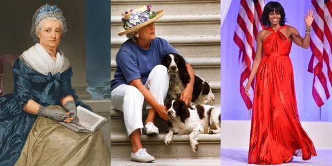 first lady fashion evolution