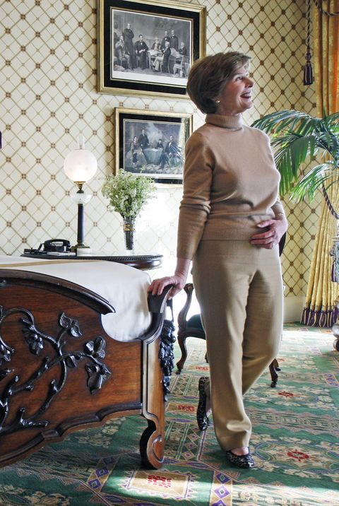 first lady rules decorating