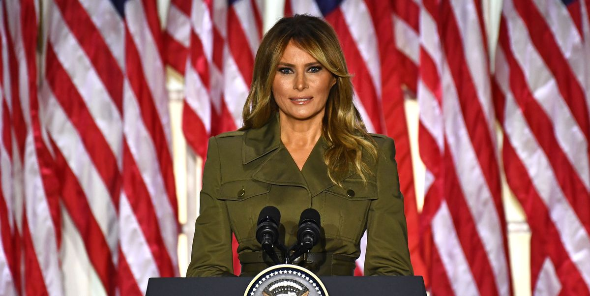First Lady Melania Trump's Style Evolution