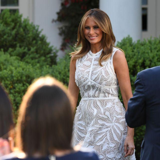 5b371fa5567 Melania Trump Style as First Lady - Photos of Melania Trump Fashion