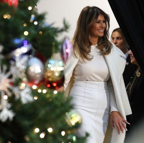 Melania Trump Christmas 2019 Melania Trump Is Planning the 2019 White House Christmas Decorations