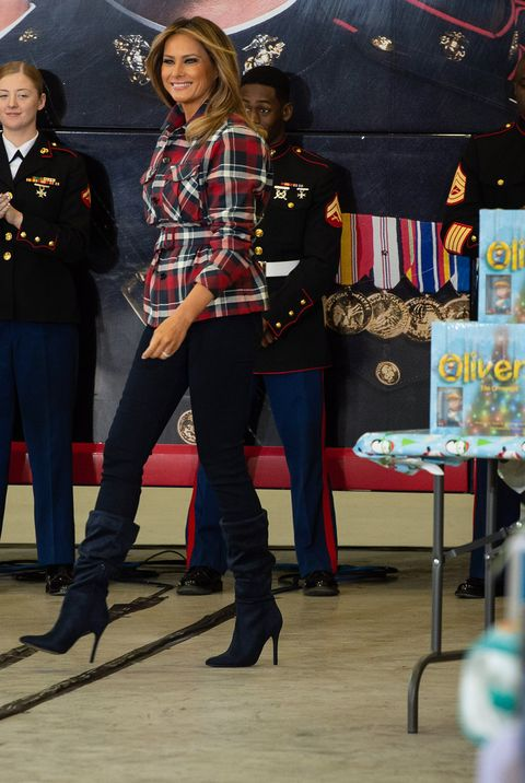 b80d489447c Melania Trump Style as First Lady - Photos of Melania Trump Fashion