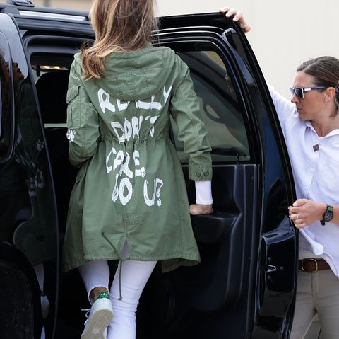 first lady melania trump visits immigrant detention center on us border
