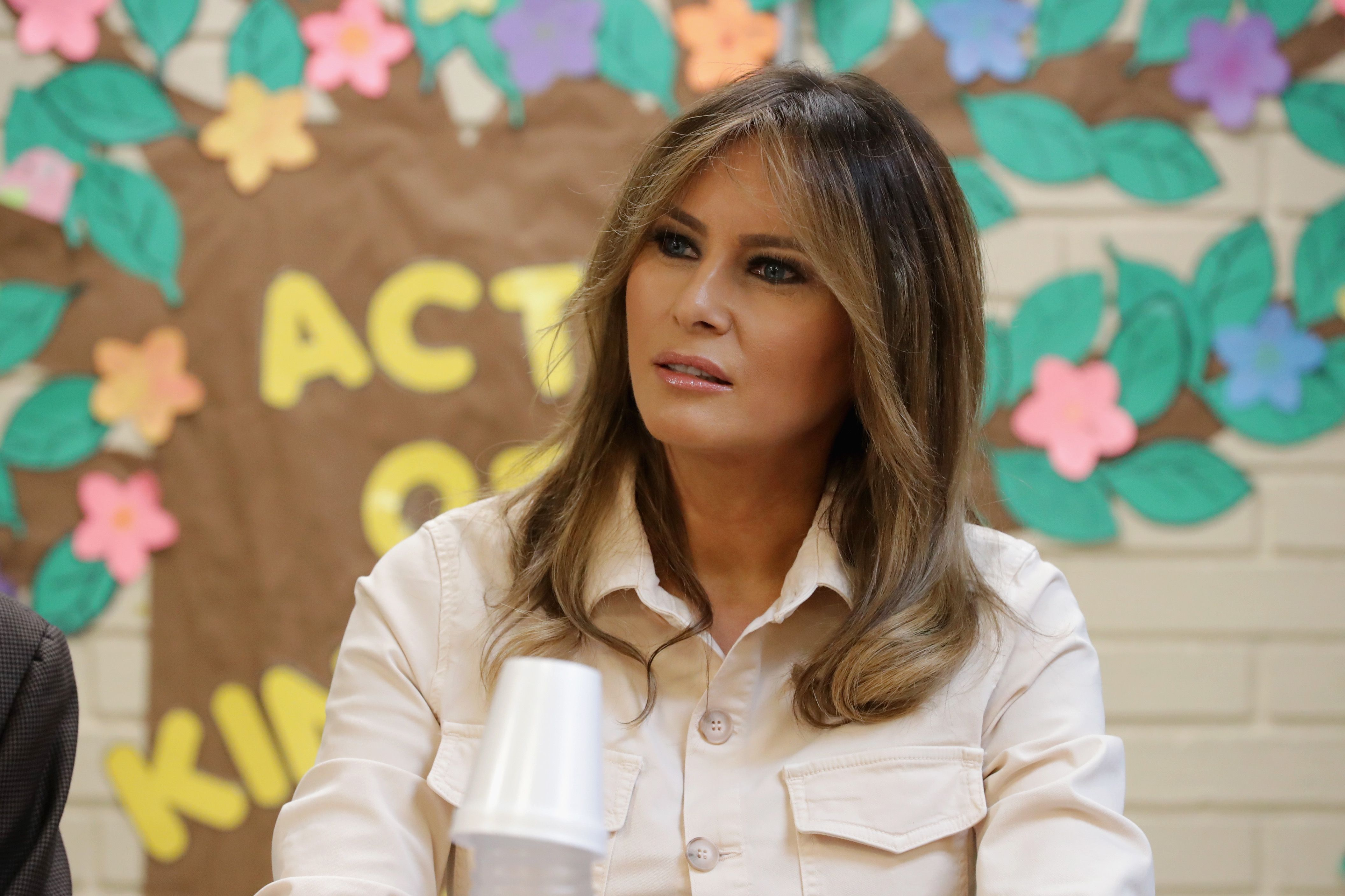 Melania Trump Said Children Detained at the Border Are