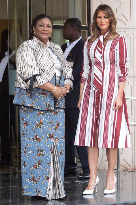 d39402129f7 Melania Trump Style as First Lady - Photos of Melania Trump Fashion
