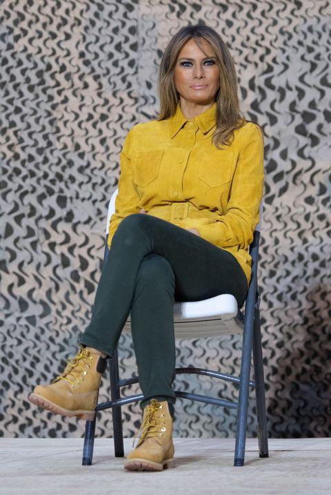 512340e1d72b Melania Trump Style as First Lady - Photos of Melania Trump Fashion