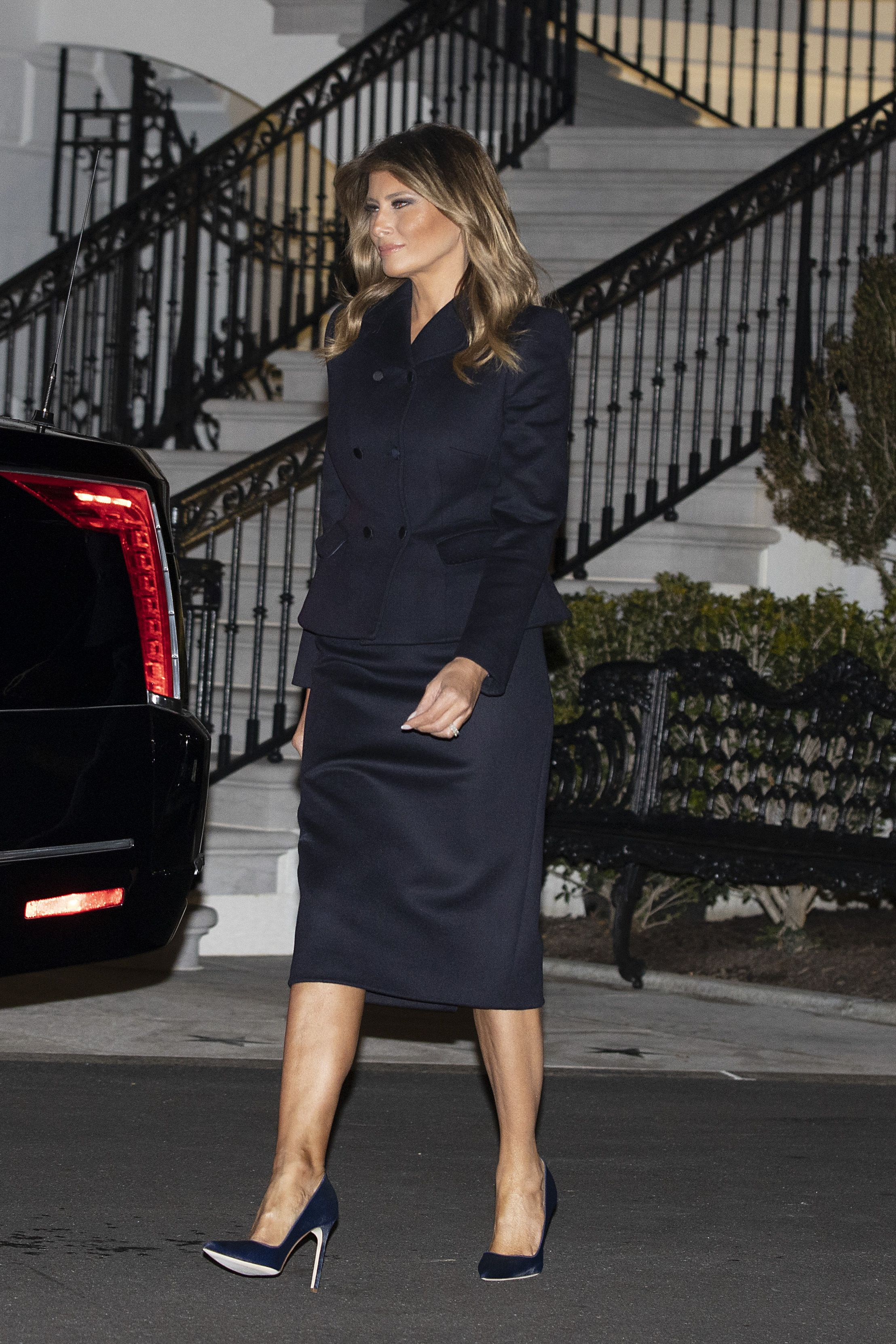 Melania Trump Style As First Lady Photos Of Melania Trump Fashion