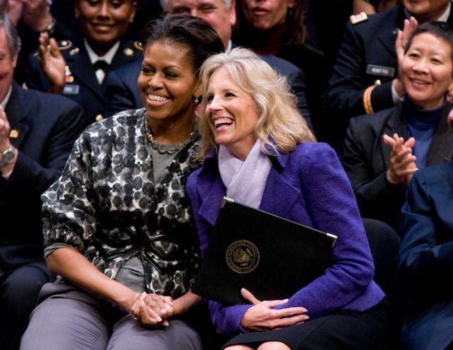 michelle obama and dr jill biden