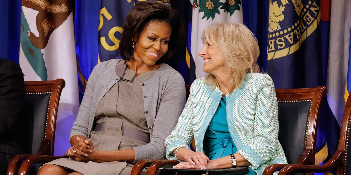 Michelle Obama and Dr. Jill Biden Are Still Best Friend Goals
