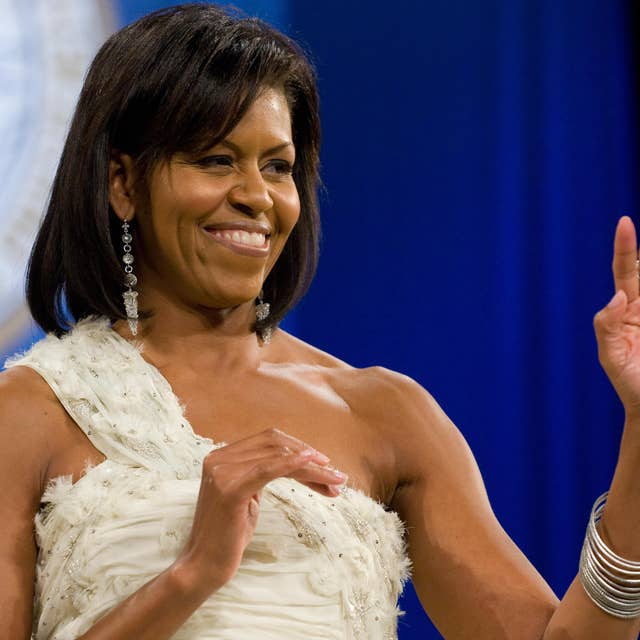 first lady michelle obama attends the ob