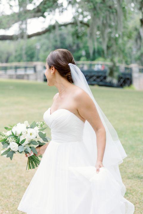 sue's wedding dress