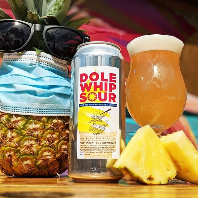 first magnitude brewing company dole whip sour beer