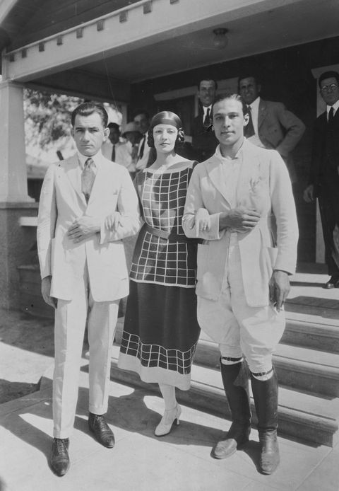 Rudolph Valentino and Natacha Rambova After Wedding