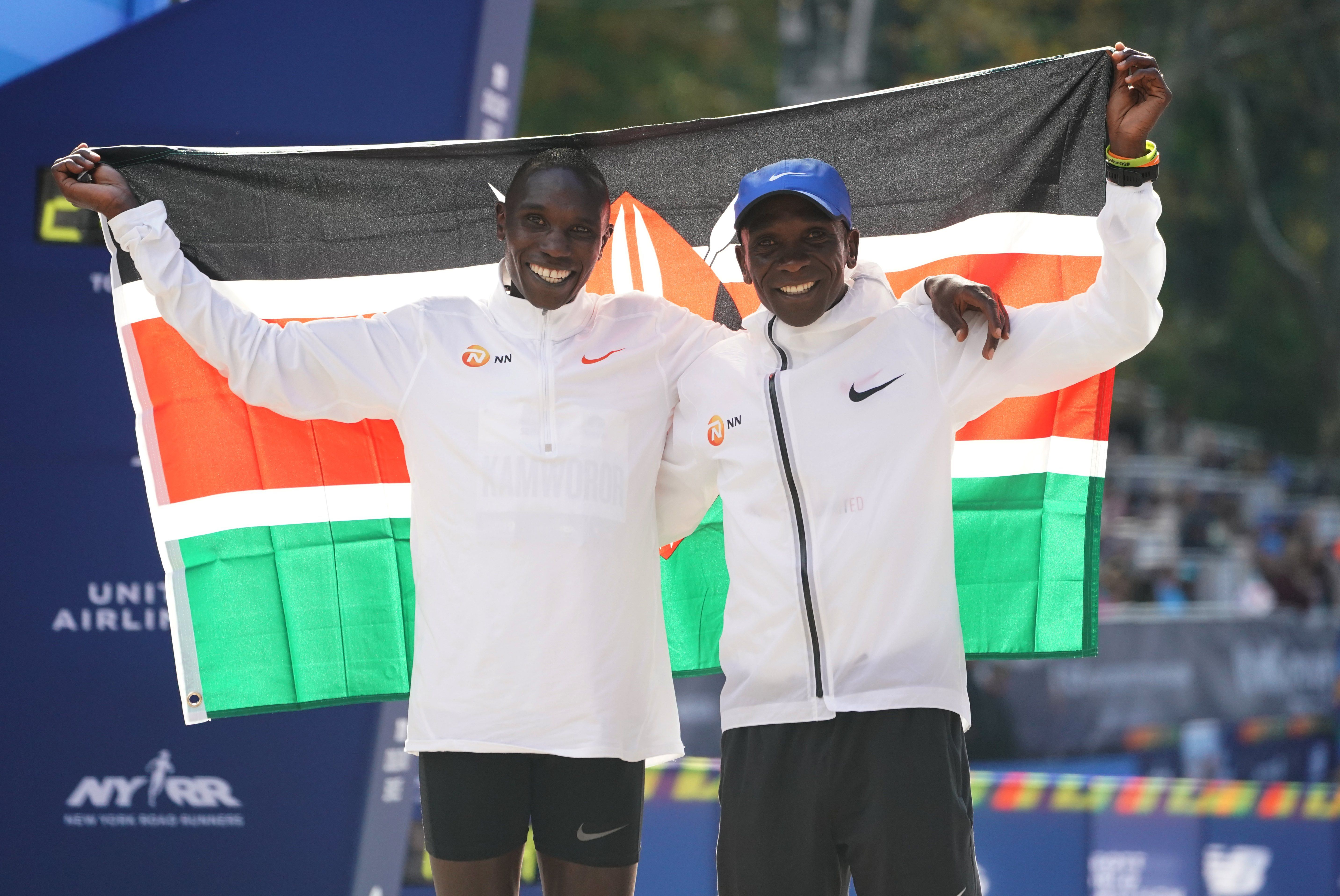 Kipchoge and Kamworor Talk Solo Training, Family Time, and the Perks of Virtual Racing