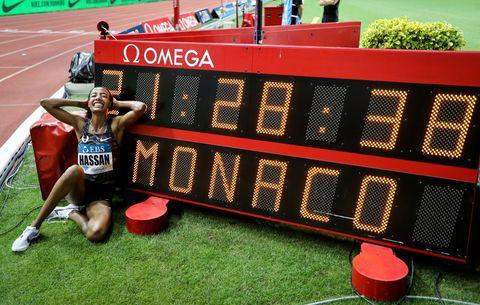 Sifan Hassan, récord del mundo de la milla en Mónaco