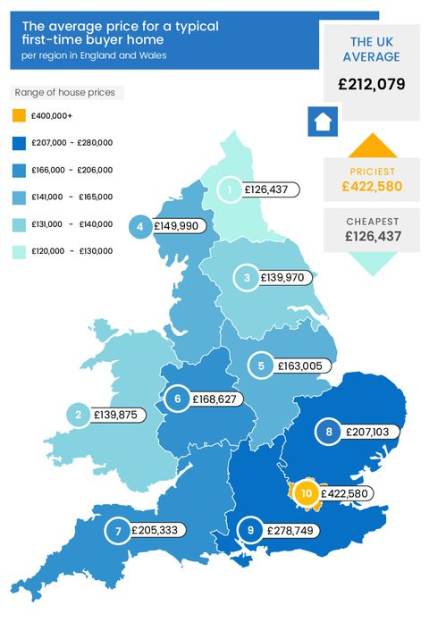 Average uk house deposit this is the average house deposit for map of house prices in uk sisterspd