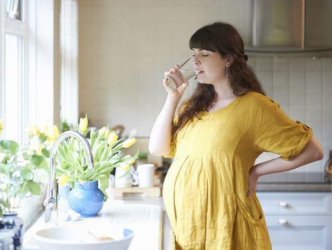 First trimester pregnancy
