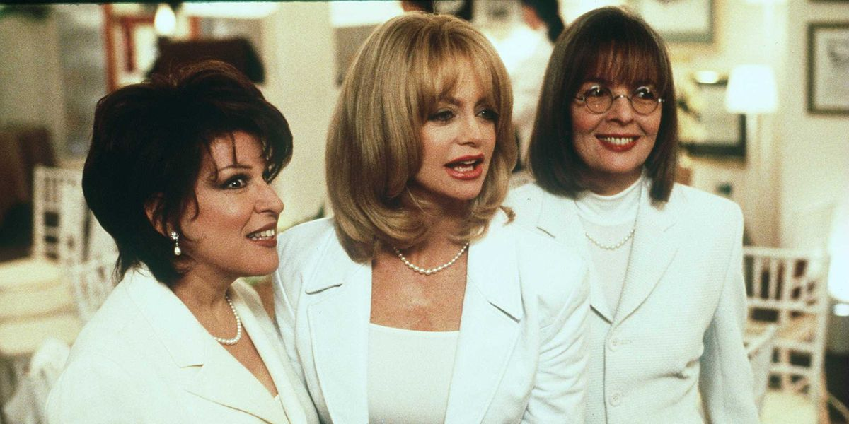 Goldie Hawn, Bette Midler, and Diane Keaton Are About to Reunite in a Movie