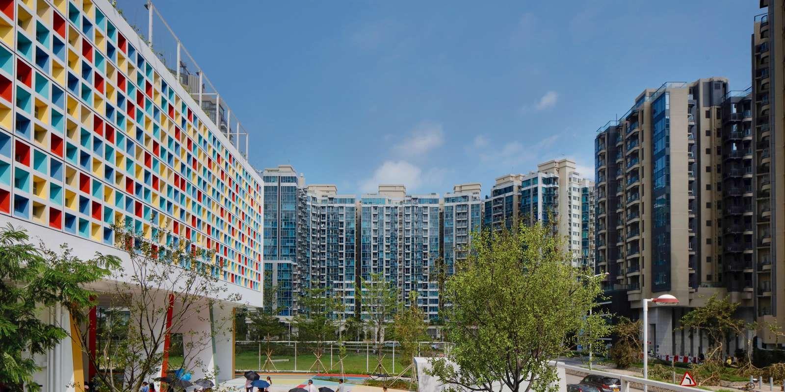 Scuola Internazionale Francese di Hong Kong, Henning Larsen