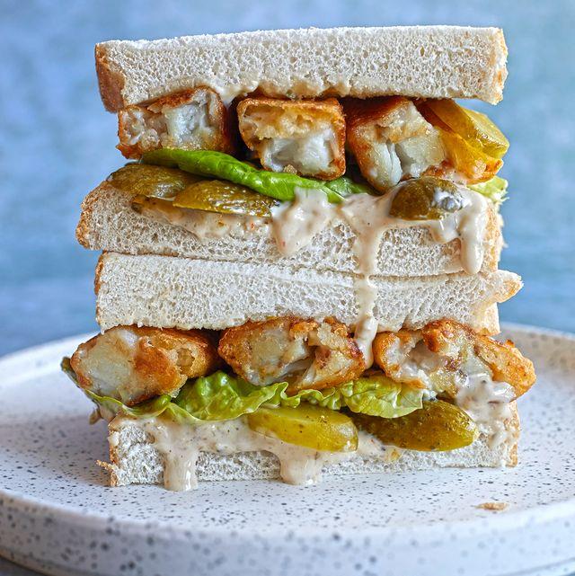 fish finger sandwich   homemade fish finger sandwich