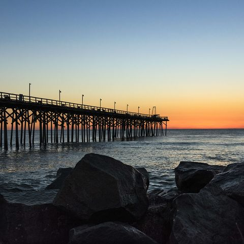 fishing pier at carolina beach