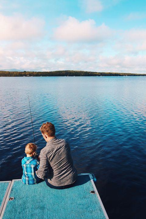 fishing summer activity