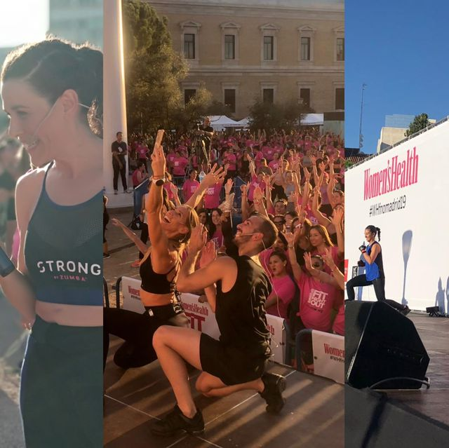 Pink, Event, Youth, Dance, Physical fitness, Fun, Zumba, Exercise, Leisure, Crowd,